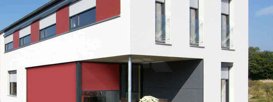 Rollläden und Raffstores neben Funktion auch Gestaltung ihrer Fassade